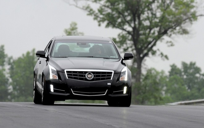2013 Cadillac ATS Front View Track1 660x413