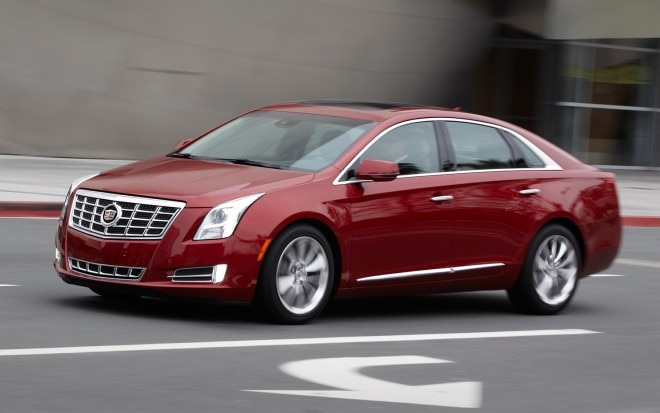 2013 Cadillac XTS Front View In Motion1 660x413