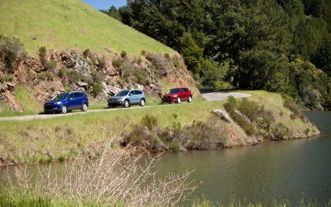 2013 Ford Escape Vs 2012 Honda CR V Vs 2013 Mazda CX 5 Group Left Side View1 660x413
