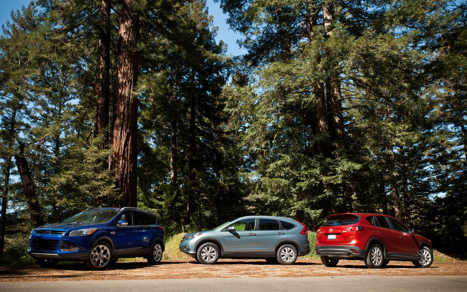 Comparison Ford Escape vs Honda CRV vs Mazda CX5  Automobile