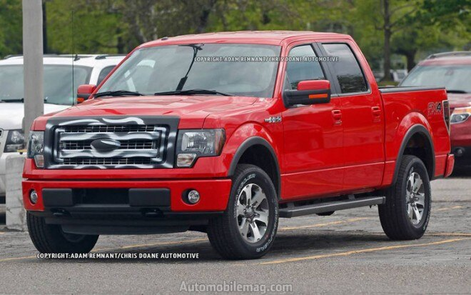 2013 Ford F 150 FX4 Spy Photo Front Three Quarter1 660x413