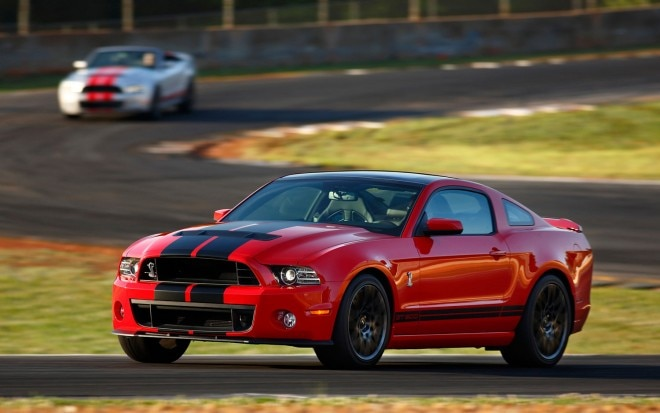 2013 Ford Shelby GT500 Side View Drivers Side1 660x413