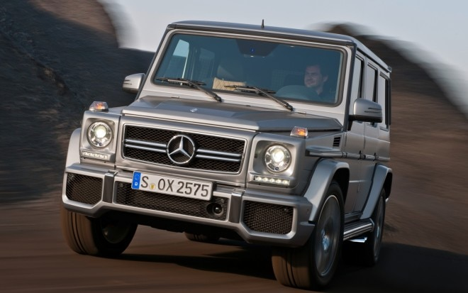 2013 Mercedes Benz G63 AMG Front View In Motion1 660x413
