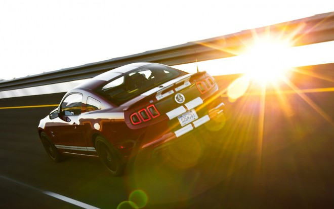 2013 Shelby GT500 Rear View In Motion1 660x413