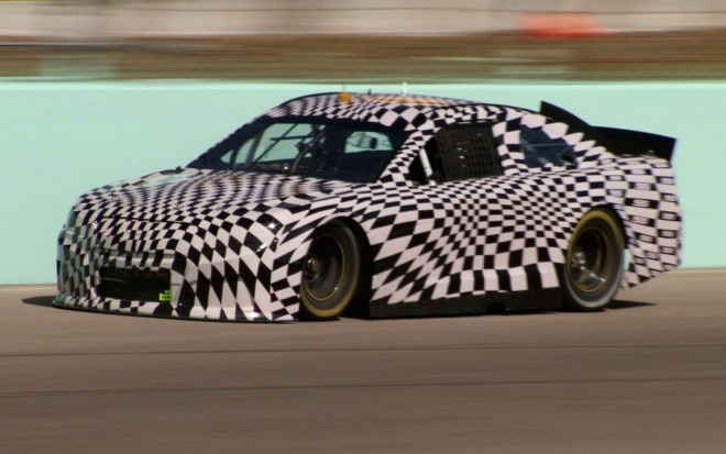 2014 Chevrolet SS NASCAR Prototype Front View1 660x413