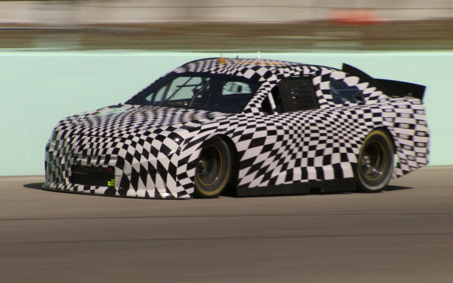 2014 Chevrolet SS NASCAR Front Three Quarter1