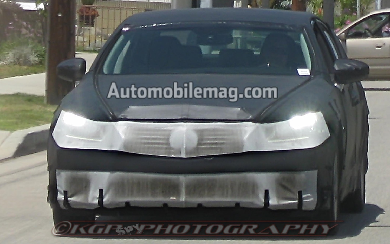 2014 Lexus LS Front Spy1