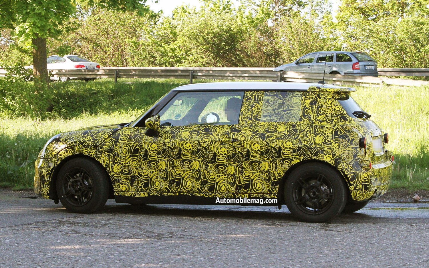 2014 Mini Cooper Spied Side View 21