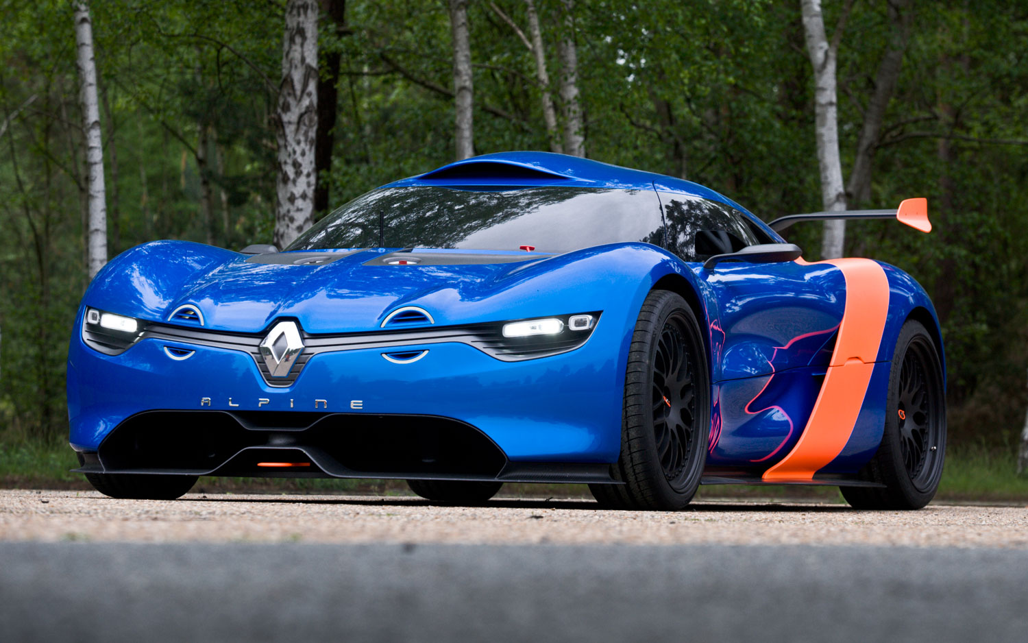 Alpine Renault A110 50 Concept Front Three Quarter View 21