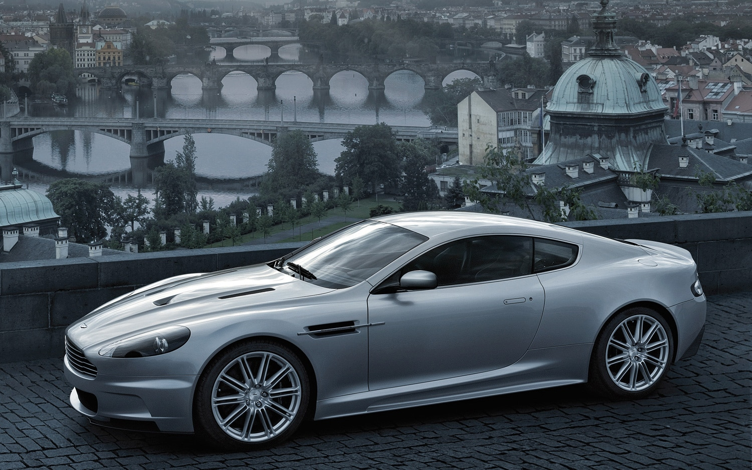 Aston Martin DBS Front Three Quarter 11