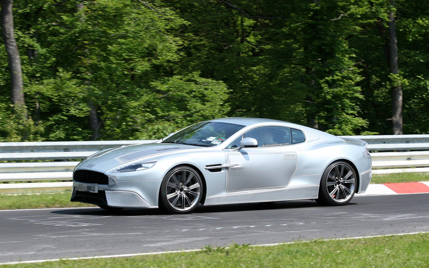 caught new aston martin dbs spotted at nurburgring. Black Bedroom Furniture Sets. Home Design Ideas