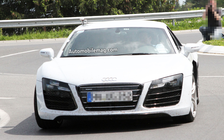 Audi R8 No Camo AMAG Front1