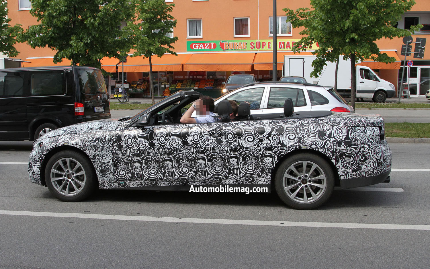 BMW 4 Series Convertible Profile1