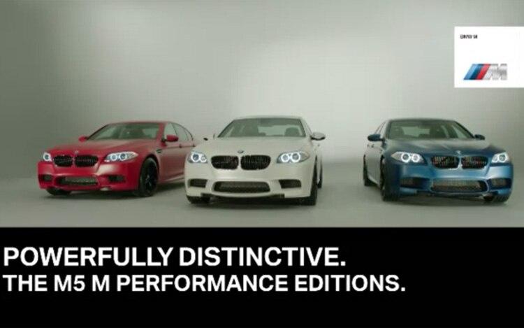 BMW M5 M Performance Edition Group