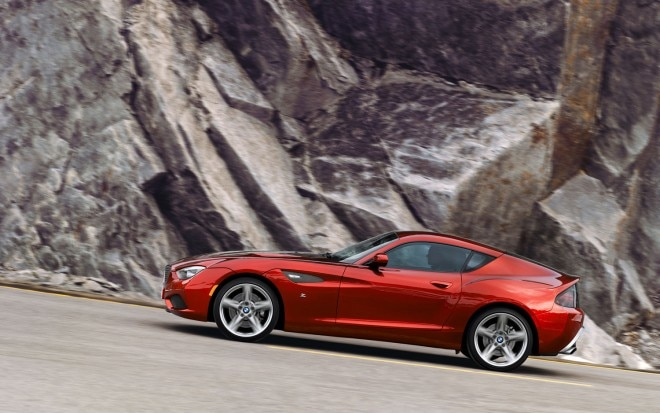 BMW Zagato Coupe Driver Side Profile Hill1 660x413