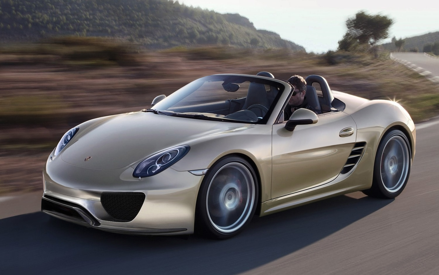 Baby Porsche Boxster Front Left Side View1