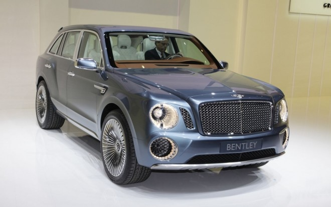 Bentley EXP 9F Front Three Quarter1 660x413