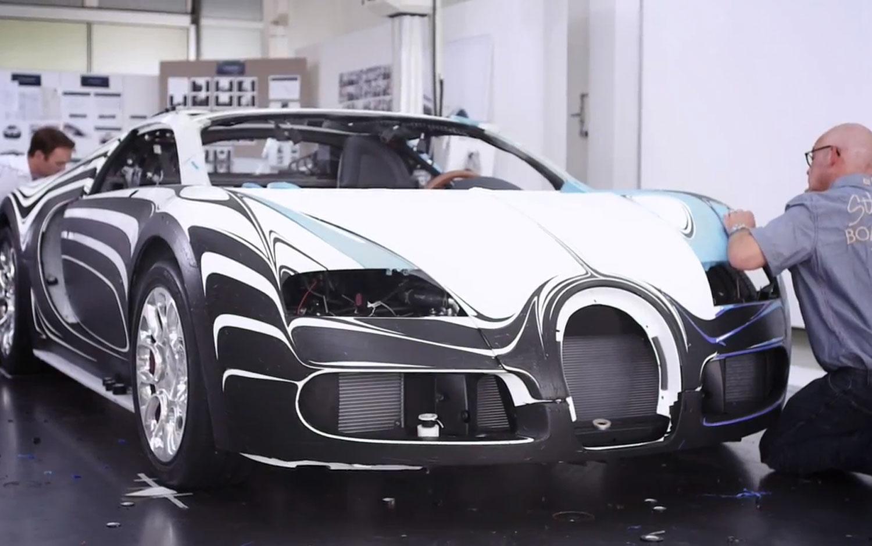 Bugatti Lor Blanc Video 11