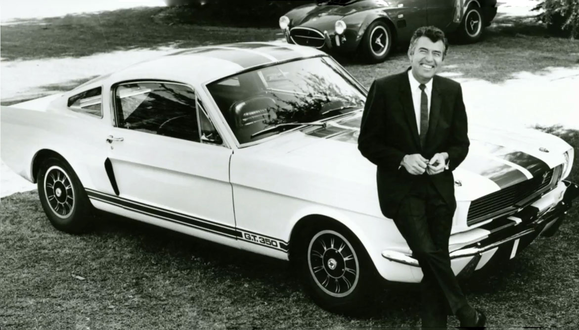 Carroll Shelby And Ford Shelby GT3501