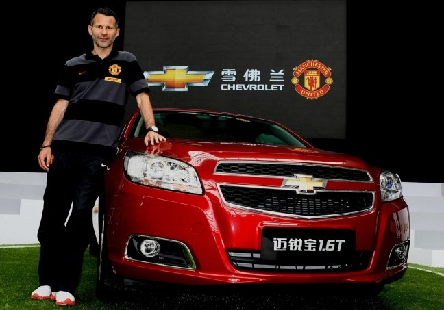 Chevrolet And Manchester United Announce Partnership In Shanghai 21 648x453
