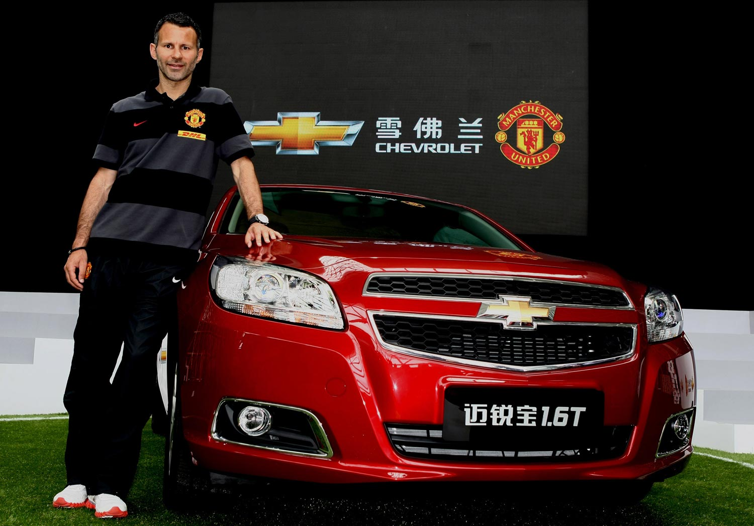 Chevrolet And Manchester United Announce Partnership In Shanghai 21