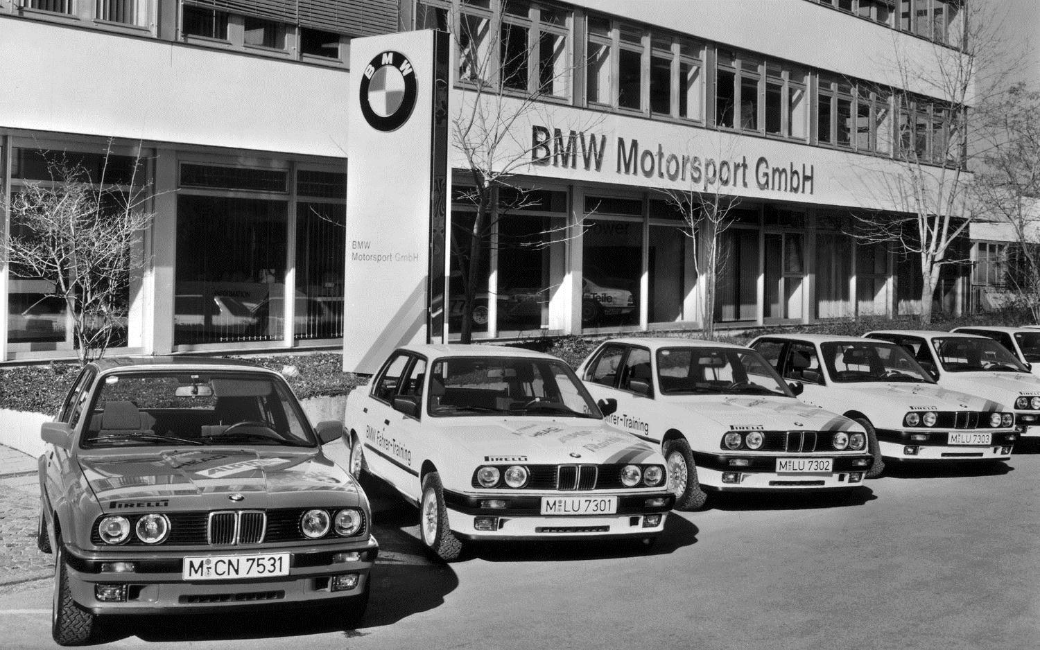 E30 BMW M3 And Headquarters1