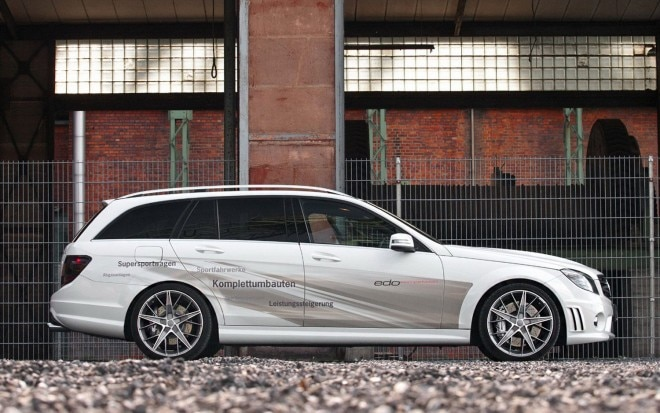 Edo Competition Mercedes Benz C63 AMG Wagon Side1 660x413