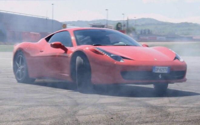 Ferrari 458 Italia Drift 660x413
