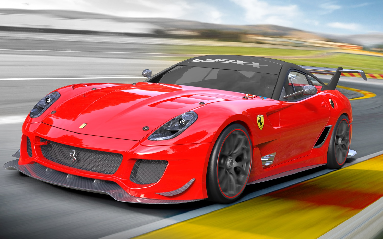 Ferrari 599XX Evoluzione Front Three Quarter1