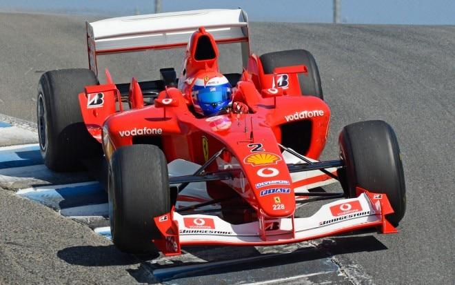 Ferrari Formula 1 Front Three Quarter Cork Screw1 660x413