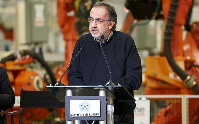 Fiat Chrysler CEO Sergio Marchionne 11 660x413