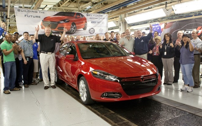 First 2013 Dodge Dart 11 660x413