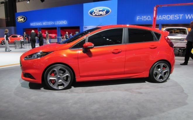 Ford Fiesta ST Concept Profile1 660x413