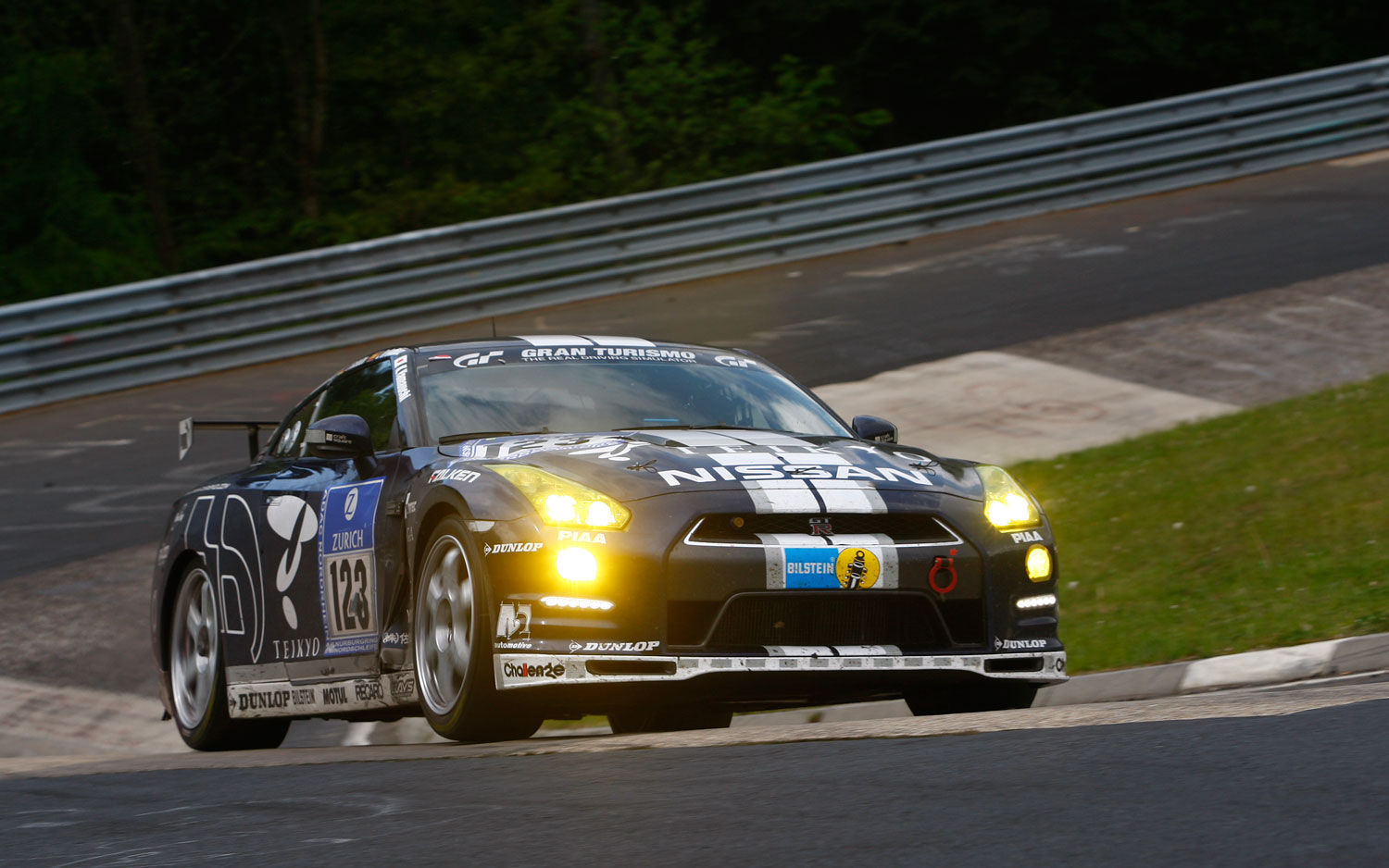 GT Academy Nissan GT R Front1
