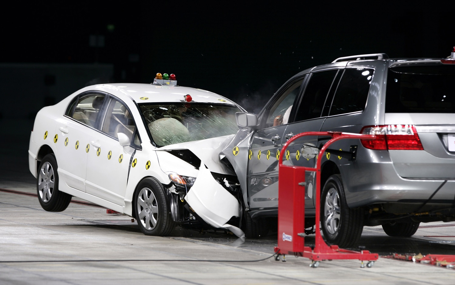 Honda Civic Vs Odyssey Crash Test