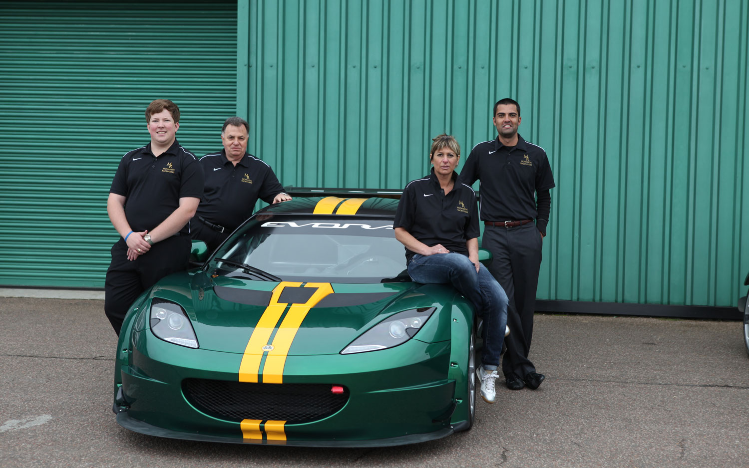 Lotus Evora GTC Front With Engineers1