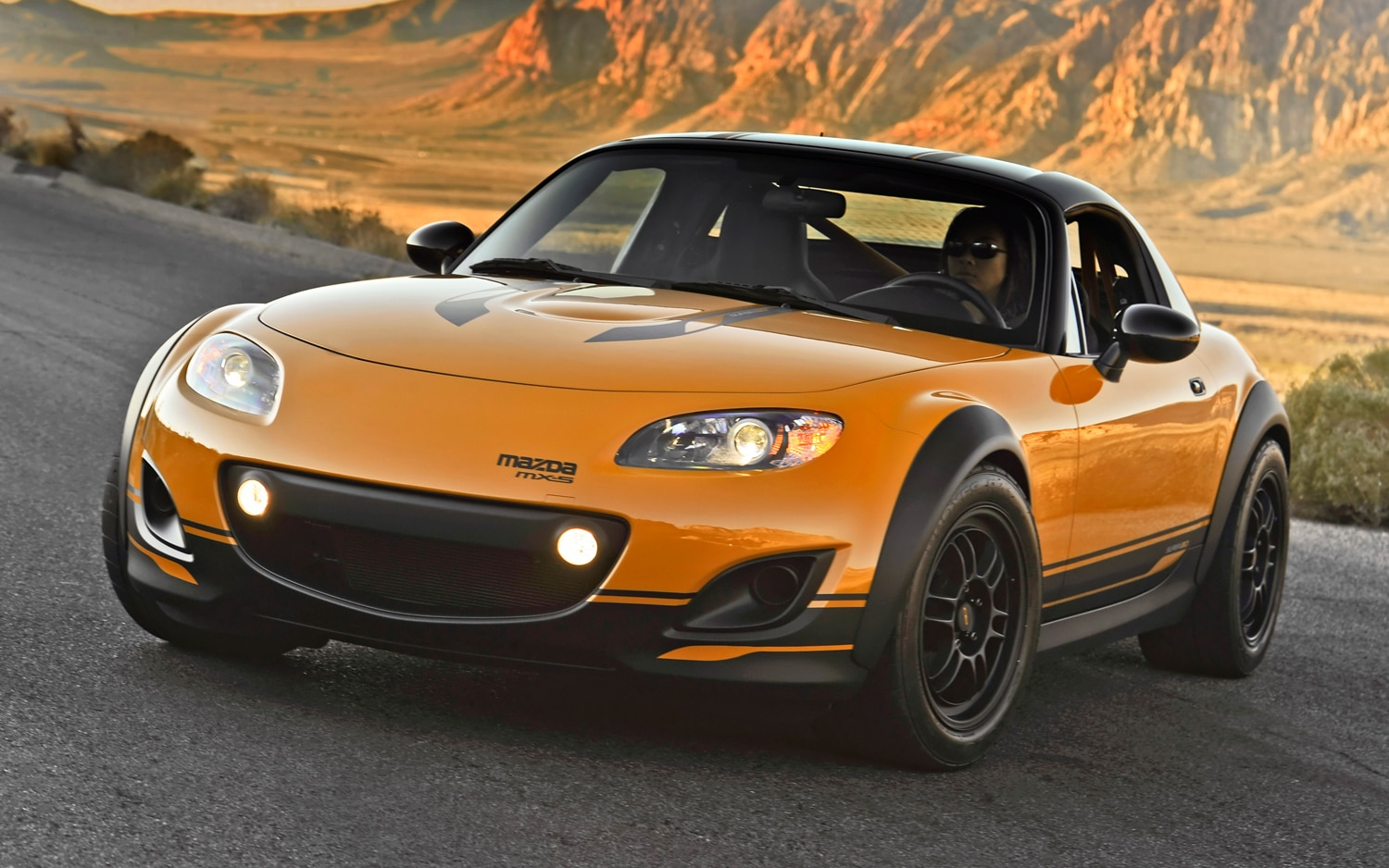 Mazda MX 5 Super20 Front Left View1