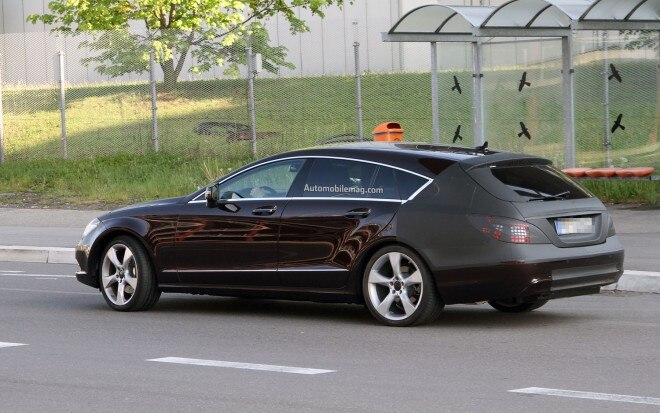 Mercedes Benz CLS Shooting Brake Rear Quarter Amag1 660x413
