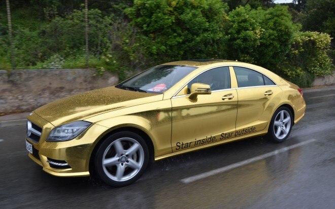 Mercedes Benz CLS Golden For 65th Palme DOr1 660x413