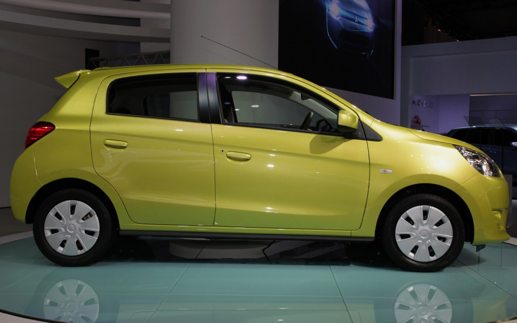 Mitsubishi Mirage Side View1