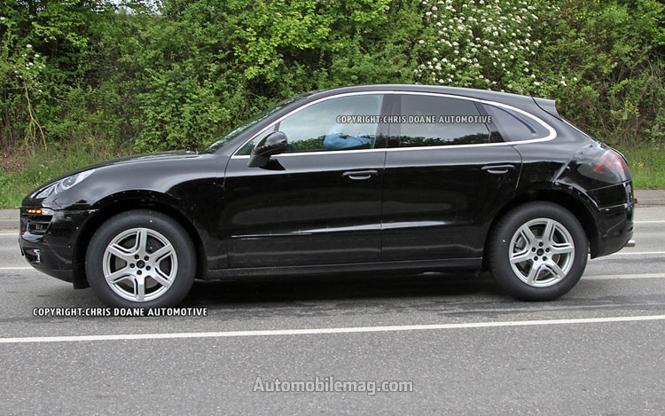 Porsche Macan Spy Photo Profile1