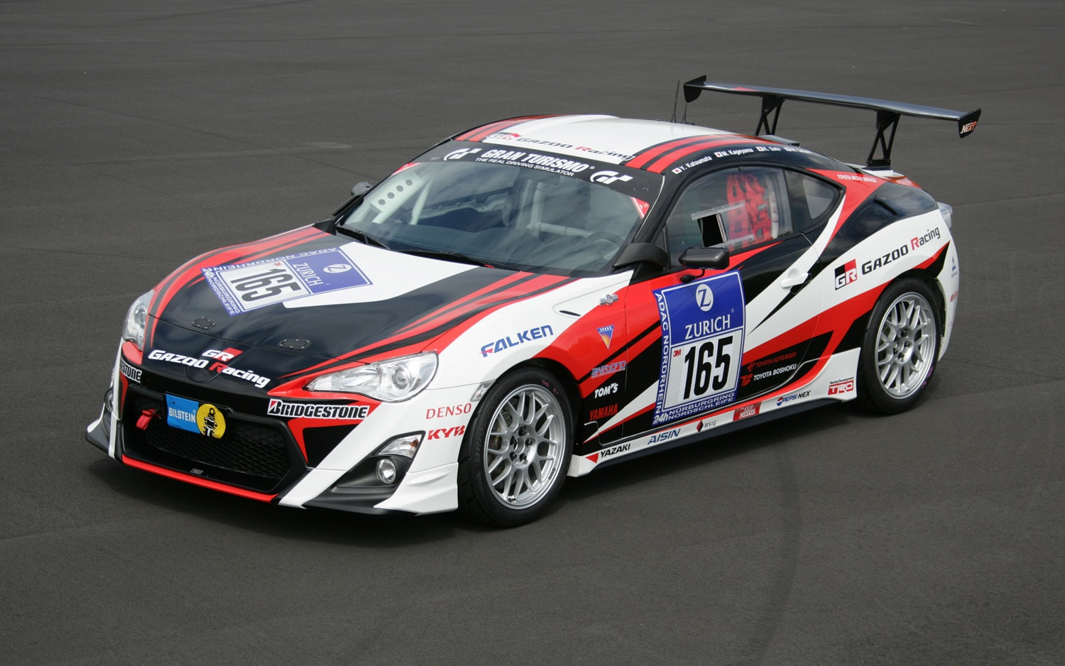 Toyota GT86 Nurburgring 24h Front Three Quarter 21