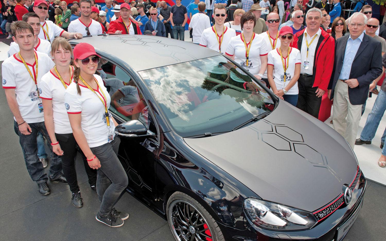 Volkswagen GTI Black Dynamic And Future Mechatronics Technicians1