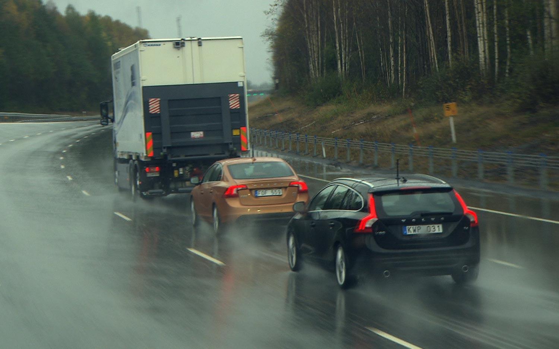 Volvo Autonomous Road Train SARTRE Project Volvo S60 V60 XC60 41