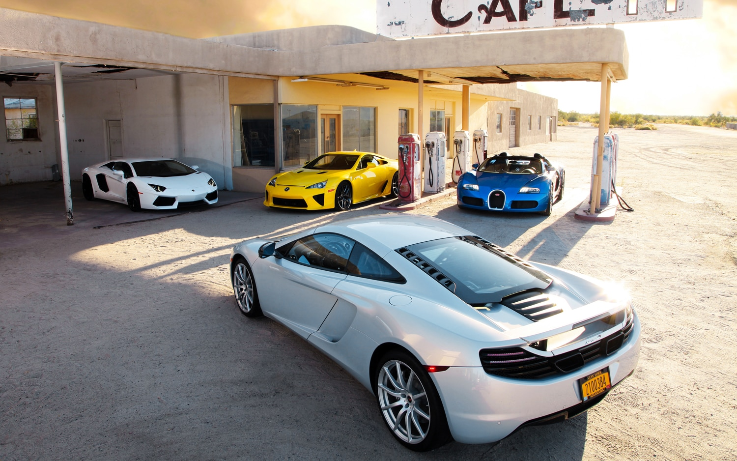Supercars Parked1