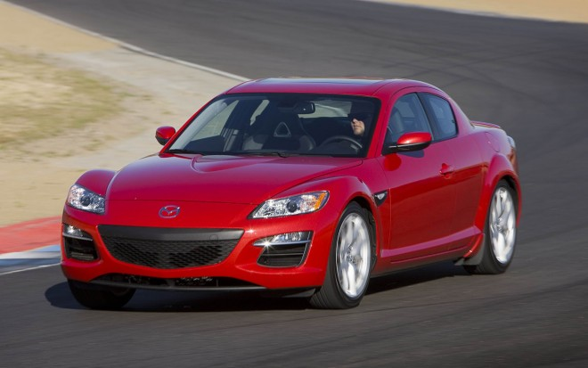 2011 Mazda RX8 Front Three Quarter1 660x413