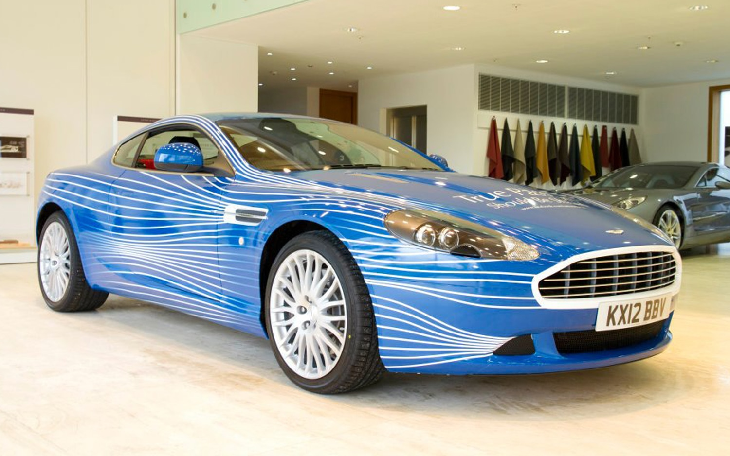 2012 Aston Martin DB9 1M Front Three Quarter1