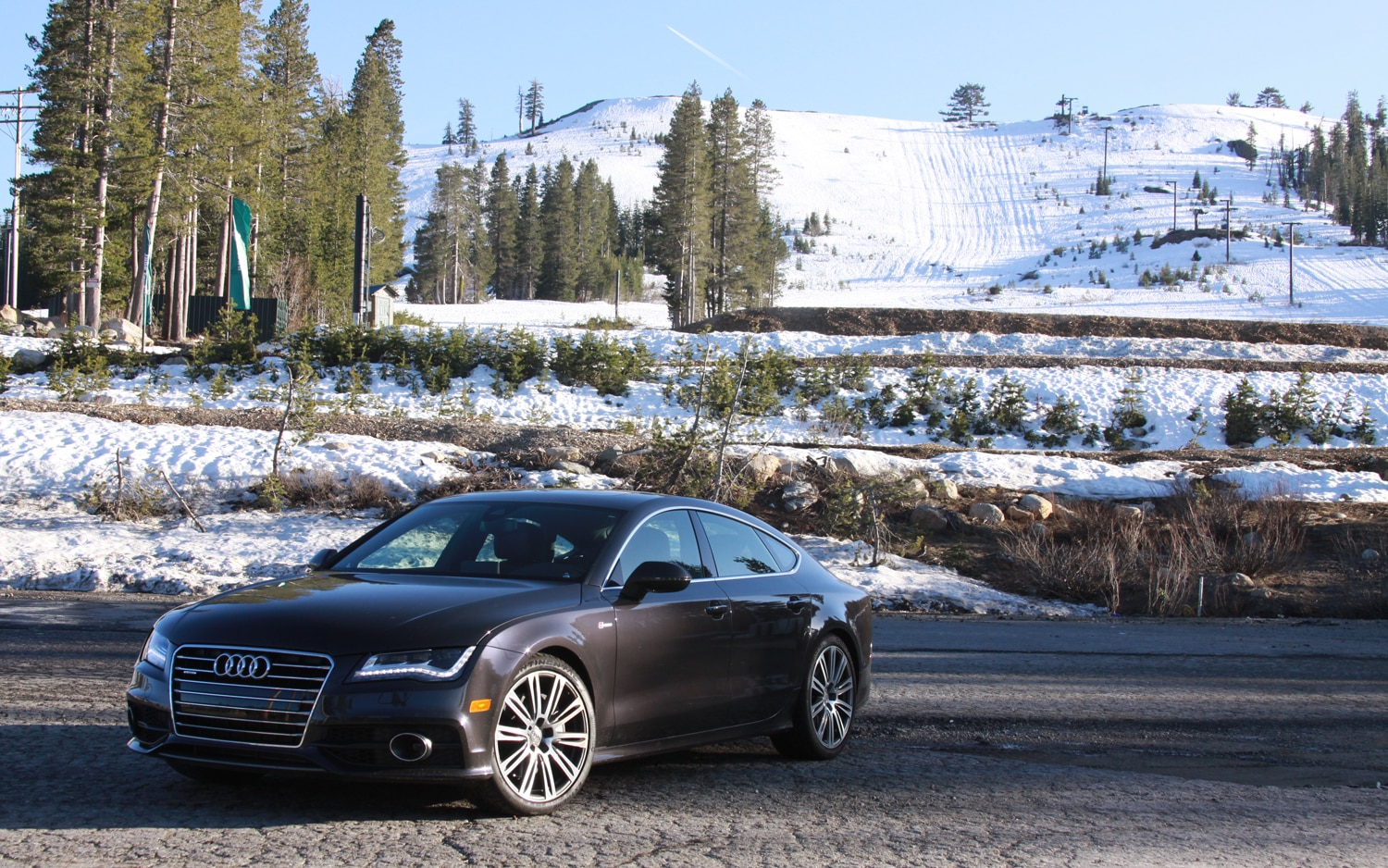 2012 Audi A7 Front Left Side View1