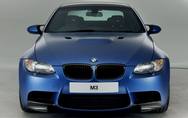 2012 BMW M3 Performance Edition Blue Front End1 660x413
