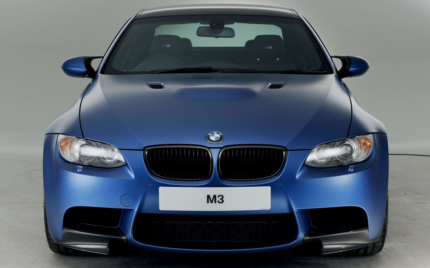2012 BMW M3 Performance Edition Blue Front End1